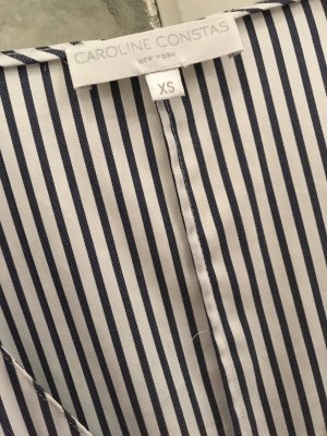 Neues Caroline Constas Kleid Lena asymmetrisches Streifenkleid XS