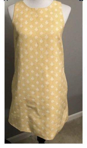 Alice + Olivia Sukienka mini złotopomarańczowy-w kolorze białej wełny