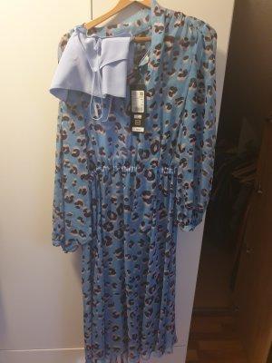 Escada Vestido de manga larga multicolor Seda