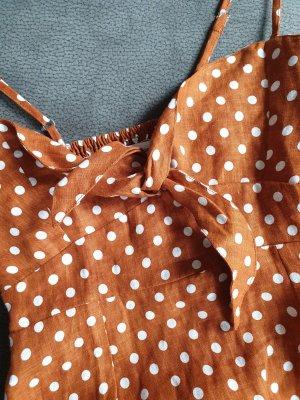 neues Faithfull Leinen Polkadot Dress