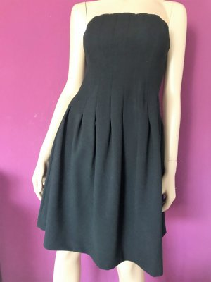H&M Bustier Dress black polyester