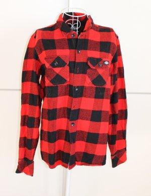Dickies Koszula w kratę ciemnoczerwony-czarny