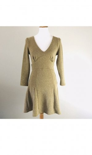 Free People Vestido cut out ocre
