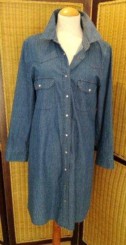 Jones Jeansowa sukienka stalowy niebieski