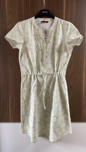 Esmara Robe chemisier blanc-gris vert