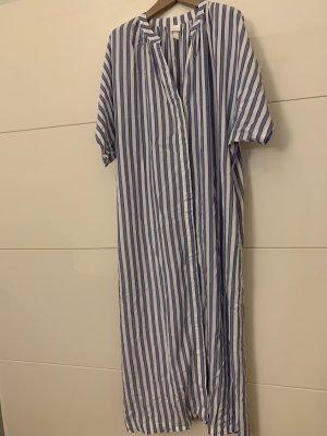 Hennes Collection by H&M Kaftan biały-niebieski
