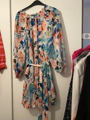 Neues Kleid Blumen geblümt Sommerkleid