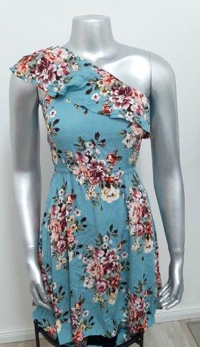 Neues Kleid Gr 34 von Club L Sommerkleid mit Blumen