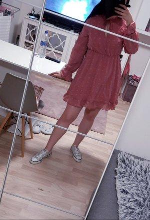 Chiffon Dress dusky pink
