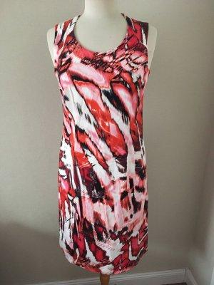 2-Biz Vestido ceñido de tubo multicolor