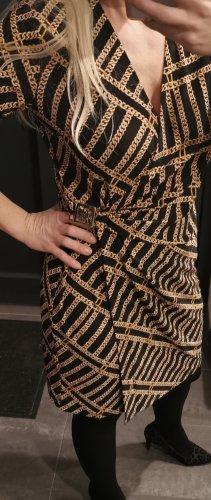 Anne Klein Wraparound black-gold-colored