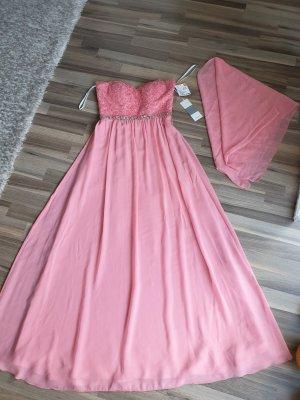 Neues Kleid mit Stola gr.S von Unigue