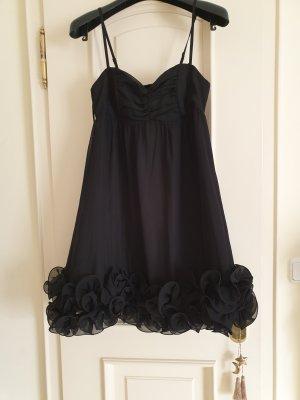 Neues Kleid mit Tüllblumen, Gr. 36
