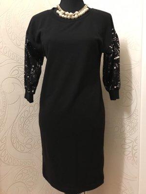 Neues Kleid schwarz Silber