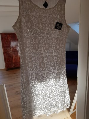 Blanc du Nil A-lijn jurk wit