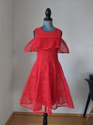 Maje Cocktail Dress red