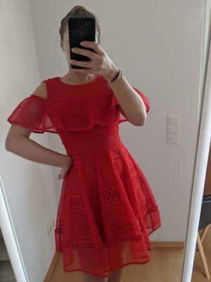 Maje Mini Dress red