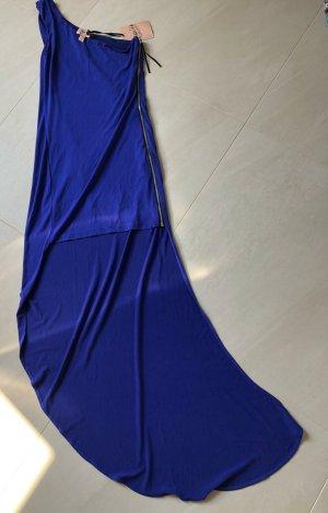 Topshop Vestito vokuhila blu