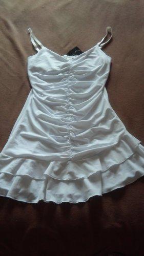 Apart Sukienka dresowa biały