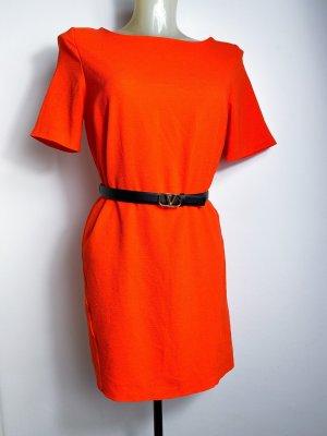 neues luxuriöses oranges Kleid aus London