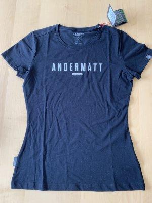 Mammut T-Shirt black cotton