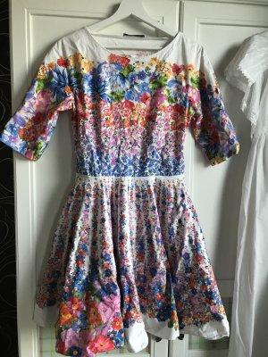 Alberta Ferretti A-lijn jurk veelkleurig Katoen