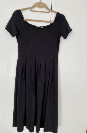 Mint&berry Off-The-Shoulder Dress black