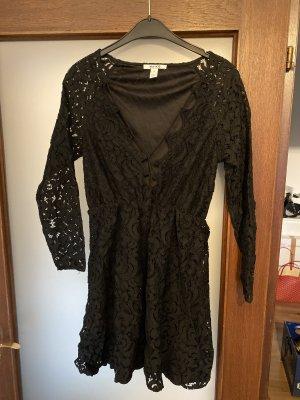 Neues NA-KD Kleid schwarze spitze