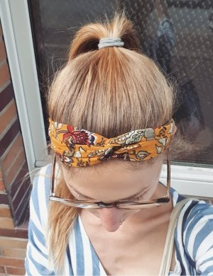 selfmade Bandeau cheveux multicolore