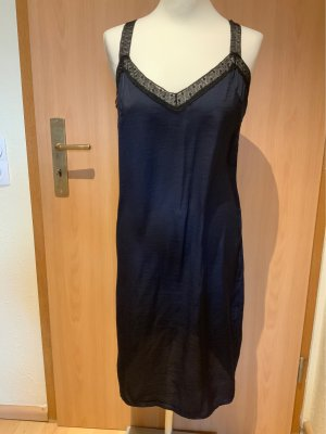 Zara Knit Vestaglia blu scuro