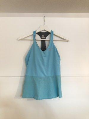 Nike Backless Top azure-blue