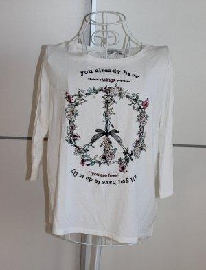 Bershka Basic Shirt white