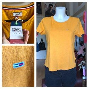 Neues Orangenes Tommy Hilfiger Shirt XS/S
