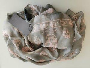 Alexander McQueen Neckerchief light grey-pink