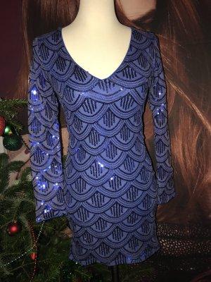 Neues Pailletten Kleid