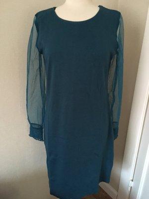 Neues Pertrol Kleid . 100% Baumwolle.Größe 40/42