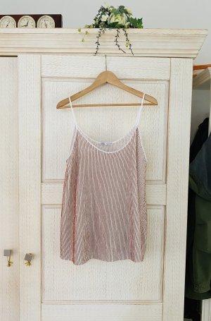 Neues Plissee Top von Zara, Lingerie Look