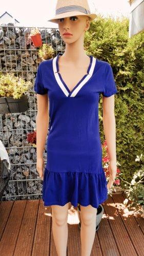 Gstar Sukienka polo ciemny fiolet-niebieski
