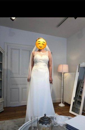 Anna Lindström Vestido de novia blanco