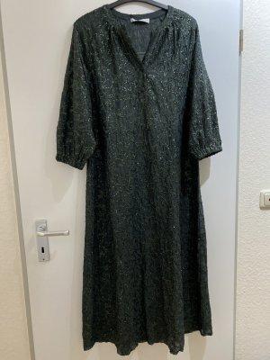 Neues schickes Kleid mit Pailletten Maxi Kleid grün