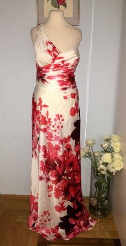 Adrianna Papell Vestido de noche blanco-rojo