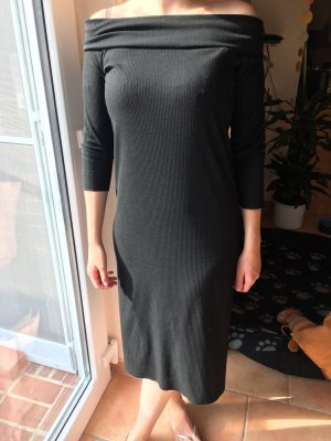 Mango Vestido largo negro