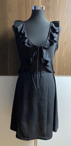 Boohoo Cut out jurk zwart