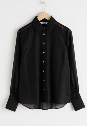 neues sheer tencel shirt