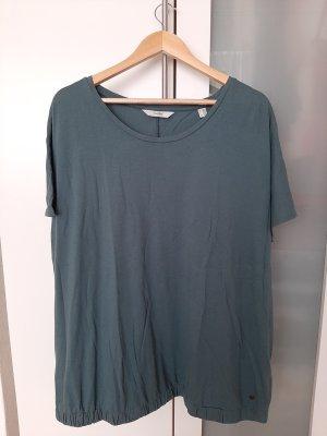 Woman by Tchibo T-Shirt slate-gray-pale blue