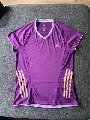 Adidas Sportshirt donkerpaars