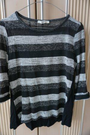 neues Shirt Oasis Gr. XS schwarz silber Longshirt