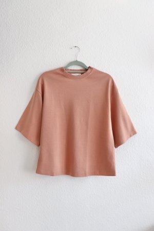 Neues Shirt Sweat Sweatshirt von Mango in rosa Größe S 36 38 Oversize