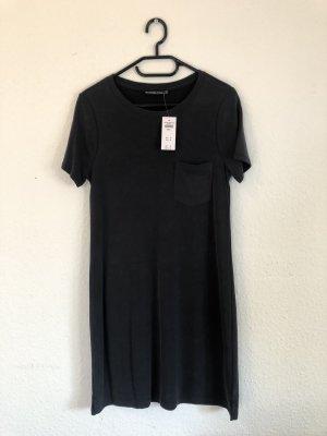 Abercrombie & Fitch Vestido estilo camisa gris pizarra