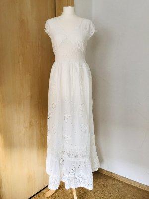 Neues Sommer Weißes Kleid Gr. M